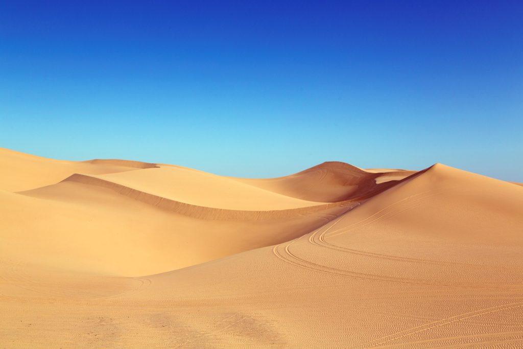 Arrakis (ou le Sahara, au choix)